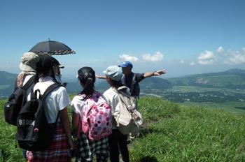 山の自然体験